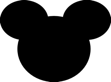 Mickey Mouse Ears Clipart