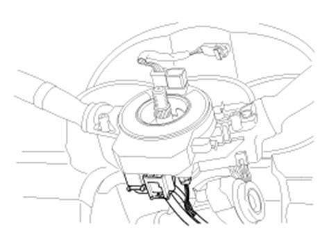 service manual 2009 kia sorento driver airbag removal instructions service manual 2009 kia kia sorento driver airbag dab module and clock spring removal airbag module restraint