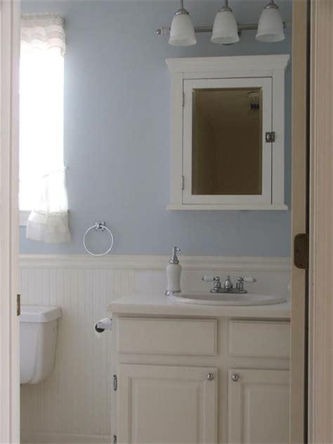 Beadboard Bathroom Vanity by Bathroom With Beadboard And Board And Batten Wainscot