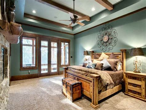 Rustic Bedroom Ideas by Home Design Rustic Bedroom Mountain Lodge Rustic