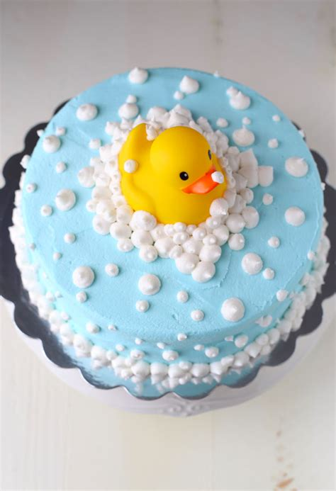 Duck Rubber Ducky Baby Shower Cakes by Rubber Ducky Baby Shower Cake Baking