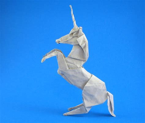 How To Make Paper Unicorn - origami unicorns page 1 of 2 gilad s origami page