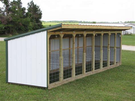 bottle calf sheds