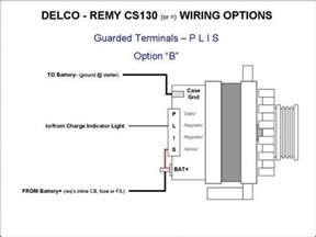 4 wire alternator wiring diagram chevy car wiring