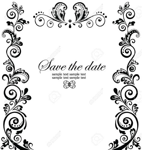 Wedding At Border by Top Compilation Of Wedding Invitation Borders Theruntime