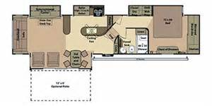 Open Range Floor Plans by 2012 Open Range Rv Fifth Wheel Series M 424rls Floorplan