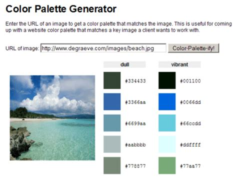 color palette generator from image the ultimate list of color tools for web developers