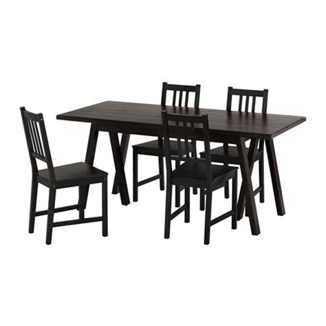 table 4 chaises ikea ryggestad grebbestad stefan table and 4 chairs ikea