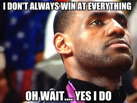 Meme Lebron James - lebron james meme the world chion don t hate miami