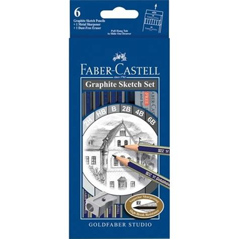 Faber Castell My Set faber castell goldfaber sketch set pack of 6 officemax