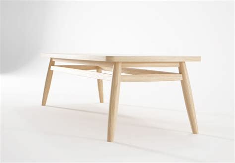 twist rectangular coffee table side tables from karpenter twist by karpenter rectangular dining table console