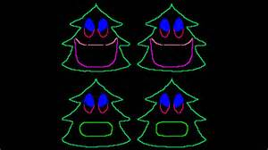 12 days of christmas singing christmas trees for light o