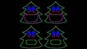 singing tree lights 12 days of singing trees for light o