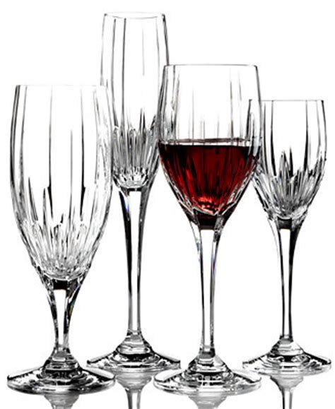 mikasa crystal barware mikasa arctic lights crystal stemware all glassware