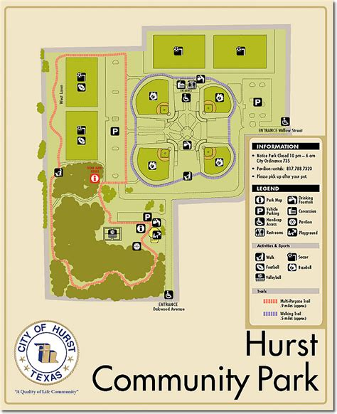 texas field map texas soccer fields hurst community park hurst tx field details