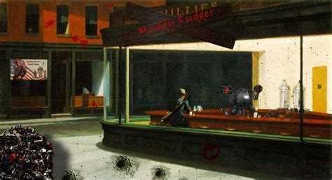 edward hopper forty masterworks 3888143969 17 best images about variations on nighthawks on christmas card designs peeps and lego