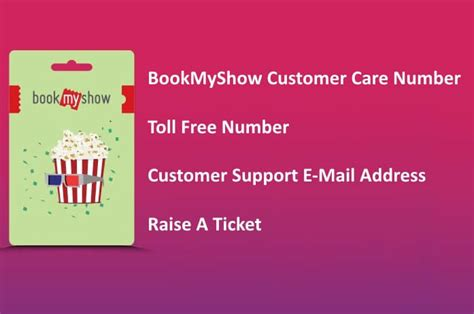 bookmyshow number bookmyshow customer care number toll free 1800 no