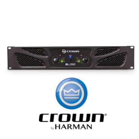 Power Lifier Crown Xli 2500 crown xli 2500 cet