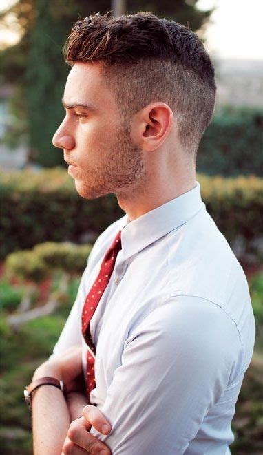 short hair at back longer on top mens hairstyles 2014 short back and sides long on top