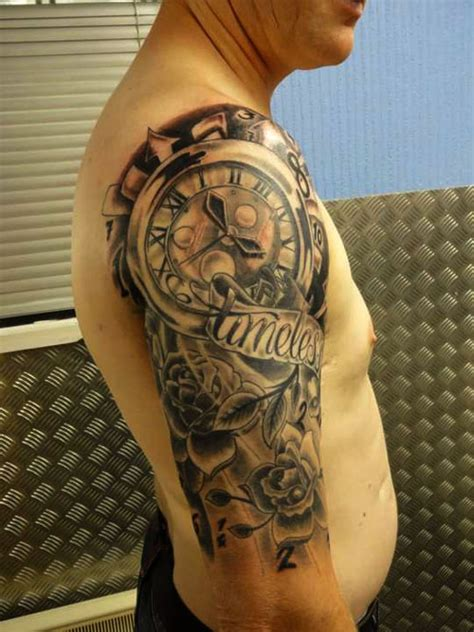 half sleeve tattoo cost clock half sleeve designs for half sleeve