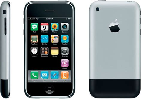 A Iphone 1 by Iphone A Visual History The Verge
