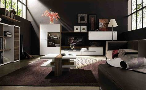 Superior Maroon Living Room #3: Excellent-Black-Living-Room-Interior-Design-With-Modern-Furniture-Living-Room-Ideas-And-Minimalist-Living-Room-Rug-Design-Also-White-Small-Living-Room-Table.jpg