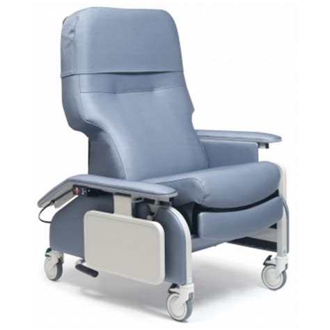 Geri Chairs by Lumex Deluxe Clinical Care Geri Chair Recliner With Drop