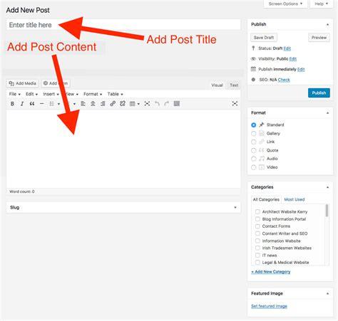yang termasuk program layout artikel adalah membuat dan posting artikel di wordpress tutorial web