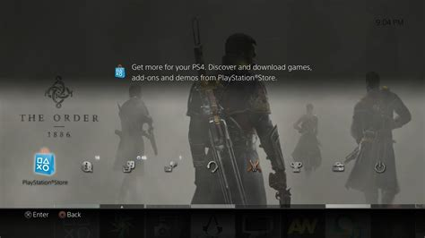 ps4 themes reddit the order 1886 ps4 dynamic theme looks stunning first