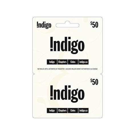 indigo chapters gift card 50 london drugs
