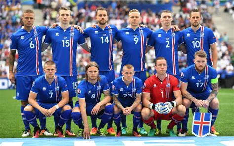 Iceland Football Team World Cup 2018 Qualifiers Team Photos Iceland National