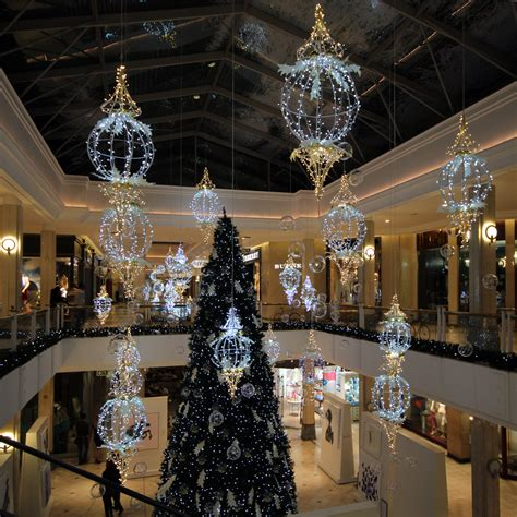Shopping Mall Decor Tmcc Lights Decor
