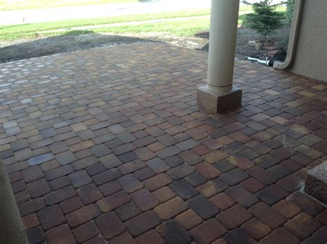 Types Of Pavers For Patio Brick Paver Patio Pictures