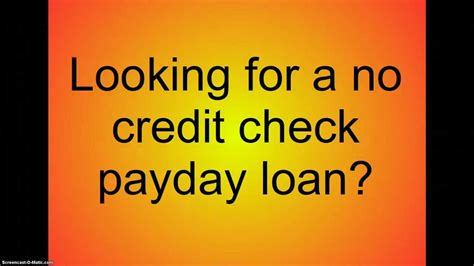 Payday Loans Today No Credit Check by No Credit Check Payday Loans Payday Loans No Credit Check