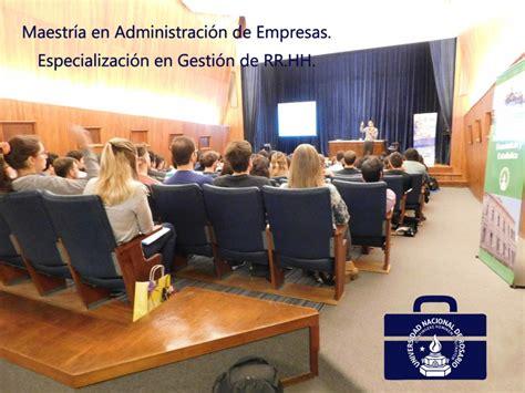 Mba Unr by Maestr 237 A En Administraci 243 N De Empresas Especializaci 243 N