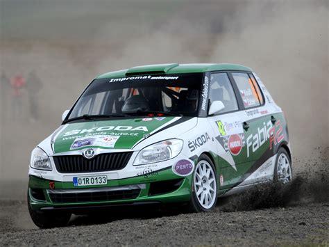 skoda racing skoda fabia ii r2 2011 racing cars