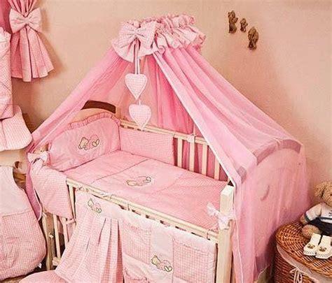 nursery cot bed sets luxury 10 baby cot bedding set cotbed nursery canopy net sleeping ebay