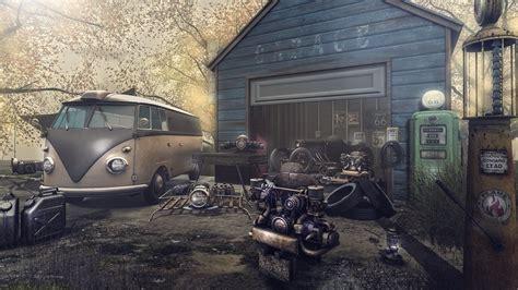 garage decor   car swap meet  rares  commons