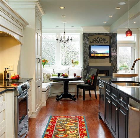 Corners In Kitchens by Kitchen Corner Decorating Ideas Tips Space Saving Solutions