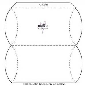 pillow box template free printable patterns