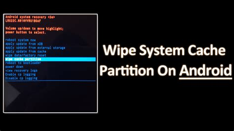 Reset Android Operating System | how to wipe system cache partition on android devices