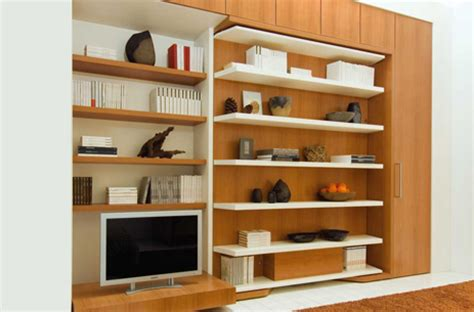 Wall Bed Desk Unit Lgm Swiviel Wall Bed With Office Desk And Shelves