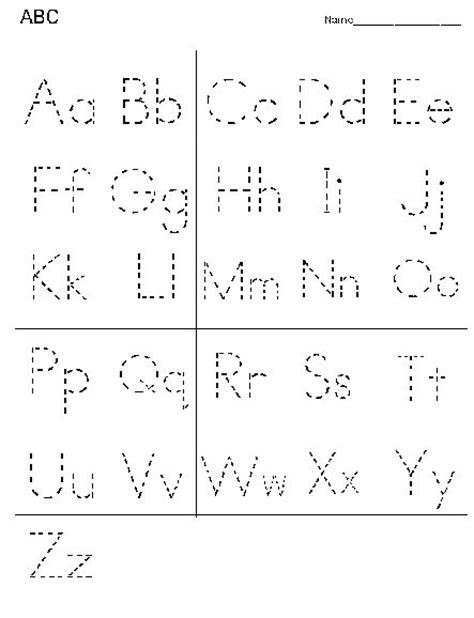 printable alphabet line printable alphabet letter tracing worksheets alphabet