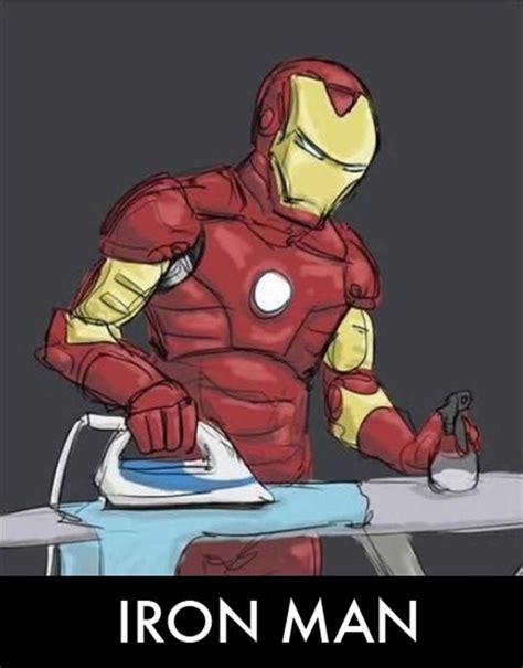 Iron Man Meme - vh iron man funny parody ironing