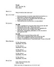 Readymade Resume Format by Curriculum Vitae Ready Made Curriculum Vitae