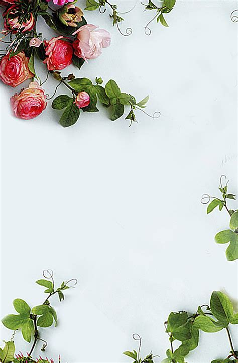 Poster Flowers by Flowers Poster Background Poster Green