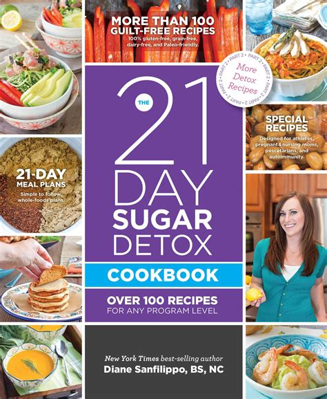 21 Day Sugar Detox Diet Book by The 21 Day Sugar Detox Cookbook Book By Diane Sanfilippo