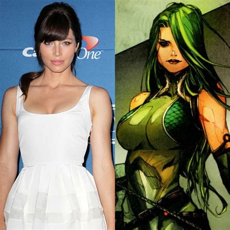 marvel film viper jessica biel cast as villainess viper in the wolverine