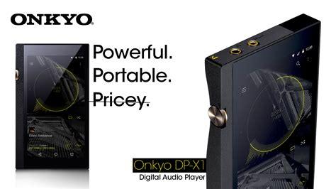 Onkyo Dp X1 Portable Digital Audio Player Hi Res onkyo announce dp x1 portable media player for audiophiles gadgetdetail