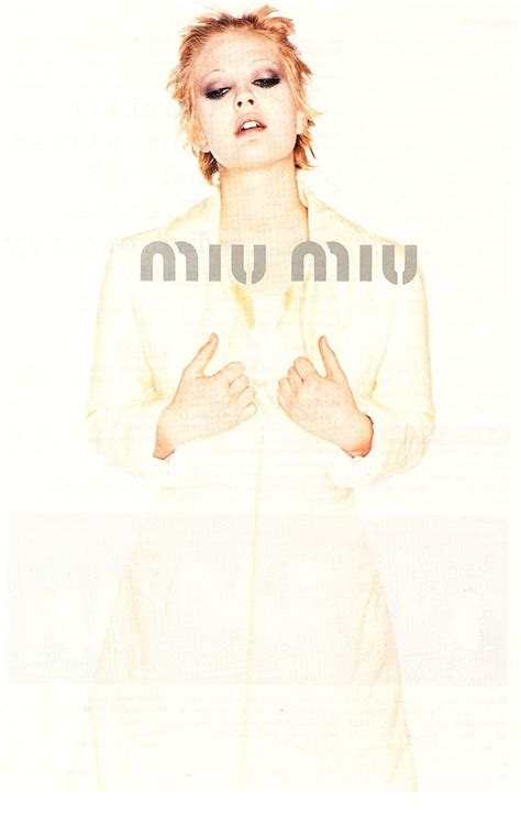 Fab Ad Miu Miu 08 by Diane Kruger In Emanuel Ungaro Ad Sevigny In Miu